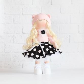 Кукла текстильная Красотка