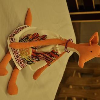 Лисичка, игрушка лиса