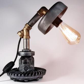 Loft Настольная лампа Steampunk, Стимпанк (Differential A47)