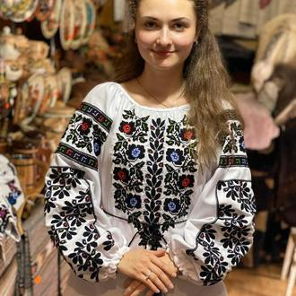 Стильная борщевская рубашка. TM SavchukVyshyvka