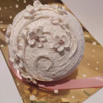 Коробочка для колец на свадьбу