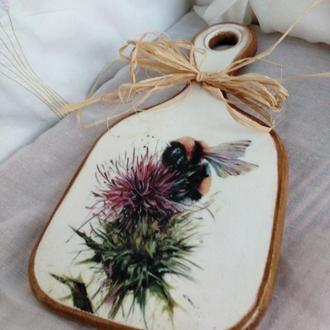 сырная досочка Пчела