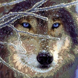 """Набор для вышивки бисером """"Волк"""""""