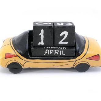 Календарь настольный Автомобиль