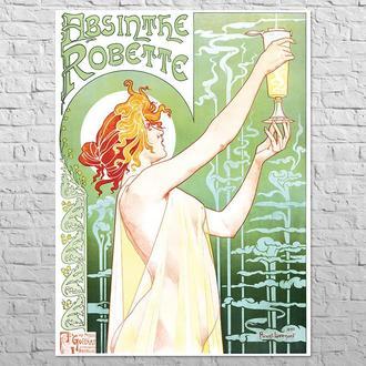 Плакат Absinthe Robette, 1895