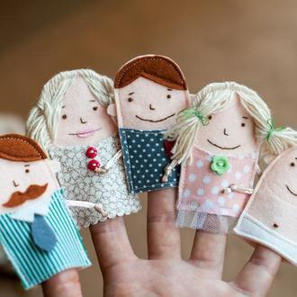 Пальчиковый театр Finger Family