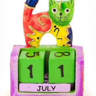 Календарь настольный вечный Кот