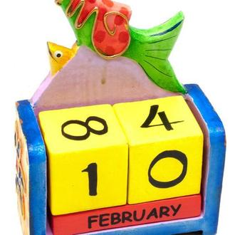 Календарь на стол Рыба