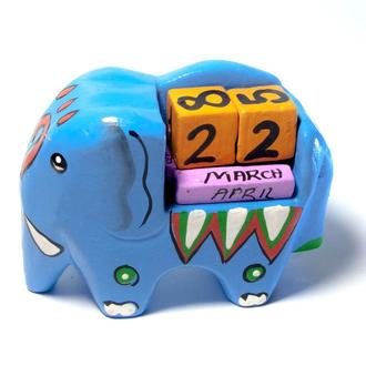 Календарь на стол Слон
