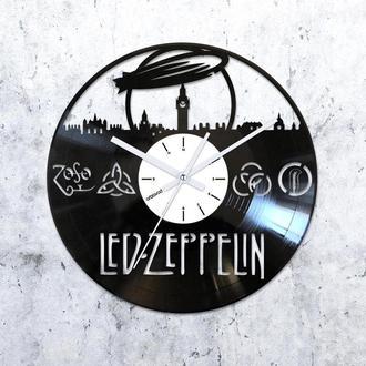 Виниловые часы Led Zeppelin. London