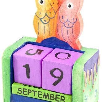 Календарь детский настольный Сова