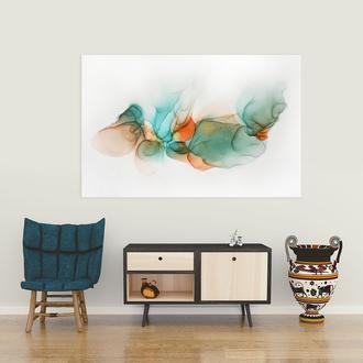 Интерьерная картина декор абстракция в подарок Сильный шелк