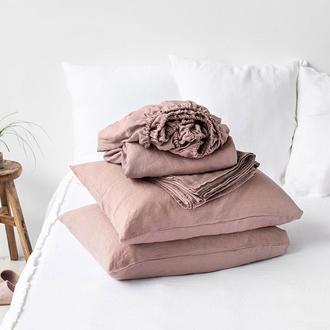 Крафтовое постельное белье из 100% льна Linen