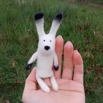 Пальчиковая игрушка Заяц