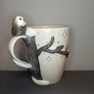 Чашка с декором