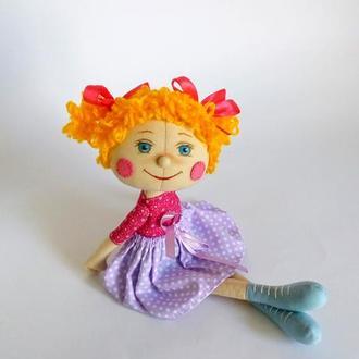 Текстильная кукла. Кукла для девочки. Кукла в подарок.