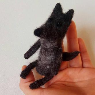 Пальчиковая игрушка Волк