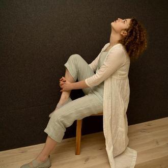 Льняная одежда  стиль Бохо