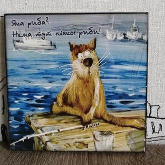 Картина декоративна,дерев'яна