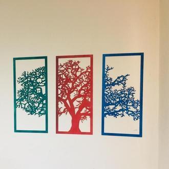 """Деревянная композиция """"дерево"""""""