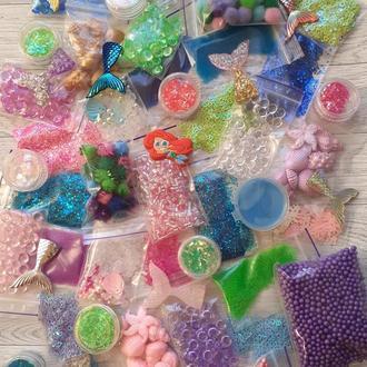 Средний набор добавок и украшений для морских слаймов
