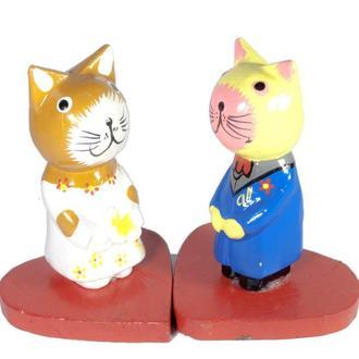 Статуэтка Влюбленный Кот и кошка сердце