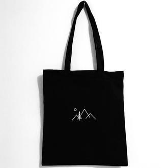Эко-сумка шоппер «Горы»