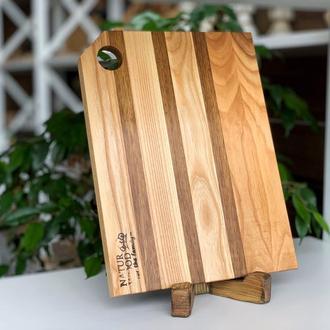 Дерев'яна кухонна дошка (ясен, дуб, горіх)