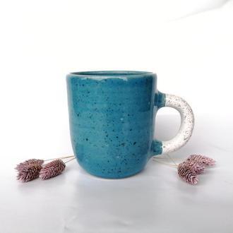 """Чашка керамічна """" Блакить"""", 400мл"""