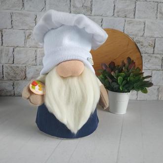 Гном повар. Декор для кухни. Подарок бабушке.