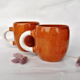 """Чашка керамічна """"Orange"""", 400мл"""