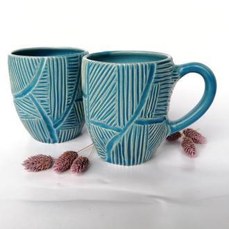 """Чашка керамічна """"Грань"""", 380мл"""