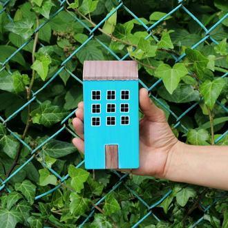 Ключниця - вішалка будиночок.Декор в будинок.Подарунок до новосілля.
