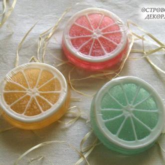 """Мыло """"Цитрус"""" Лимон, апельсин, лайм мята"""