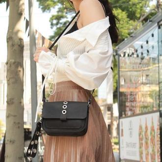 Шкіряна сумочка через плече. Жіноча сумочка