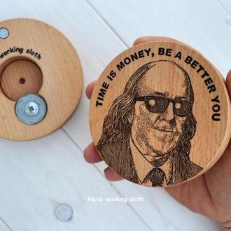 Подставка с открывалкой «Бен Франклин» / Подставка с открывалкой «Бен Франклин»