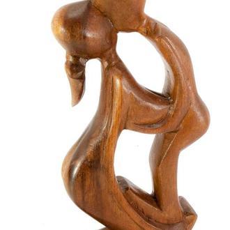 Статуэтка декоративная Влюбленные дерево