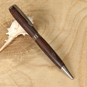 Авторучка деревянная, модель Родстер - термодуб