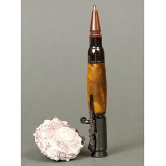 Авторучка деревянная, модель Мини Винтовка - жёлтый песок