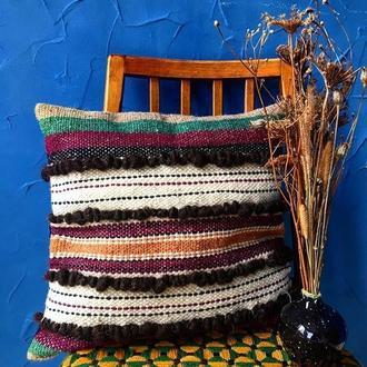 Декоративна ткана подушка | Декоративная тканая подушка