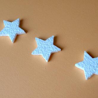 Звезда из пенопласта 55х50, пенопластовые звездочки, заготовки для творчества и декупажа