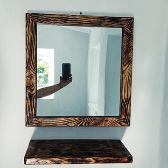 Светильник+зеркало+полочка