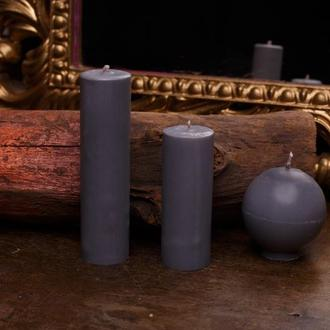 Свечи для игр с воском, EdgePlay, Серый