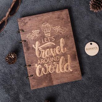 Деревянный скетчбук
