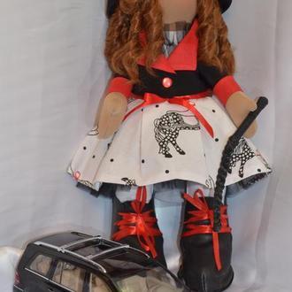 Интерьерная кукла. Всадница