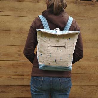 Женский рюкзак городской рюкзак