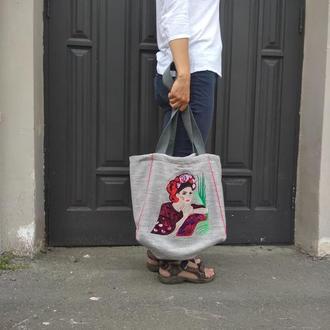 Женская сумка Пляжная сумка Шопер