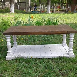 """Большой журнальный стол- садовая мебель """"Аполония"""""""