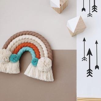Радуга панно на стену в детскую комнату