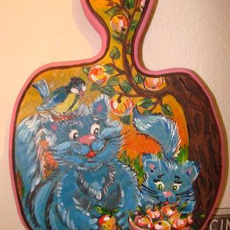 Родина блакитних котів